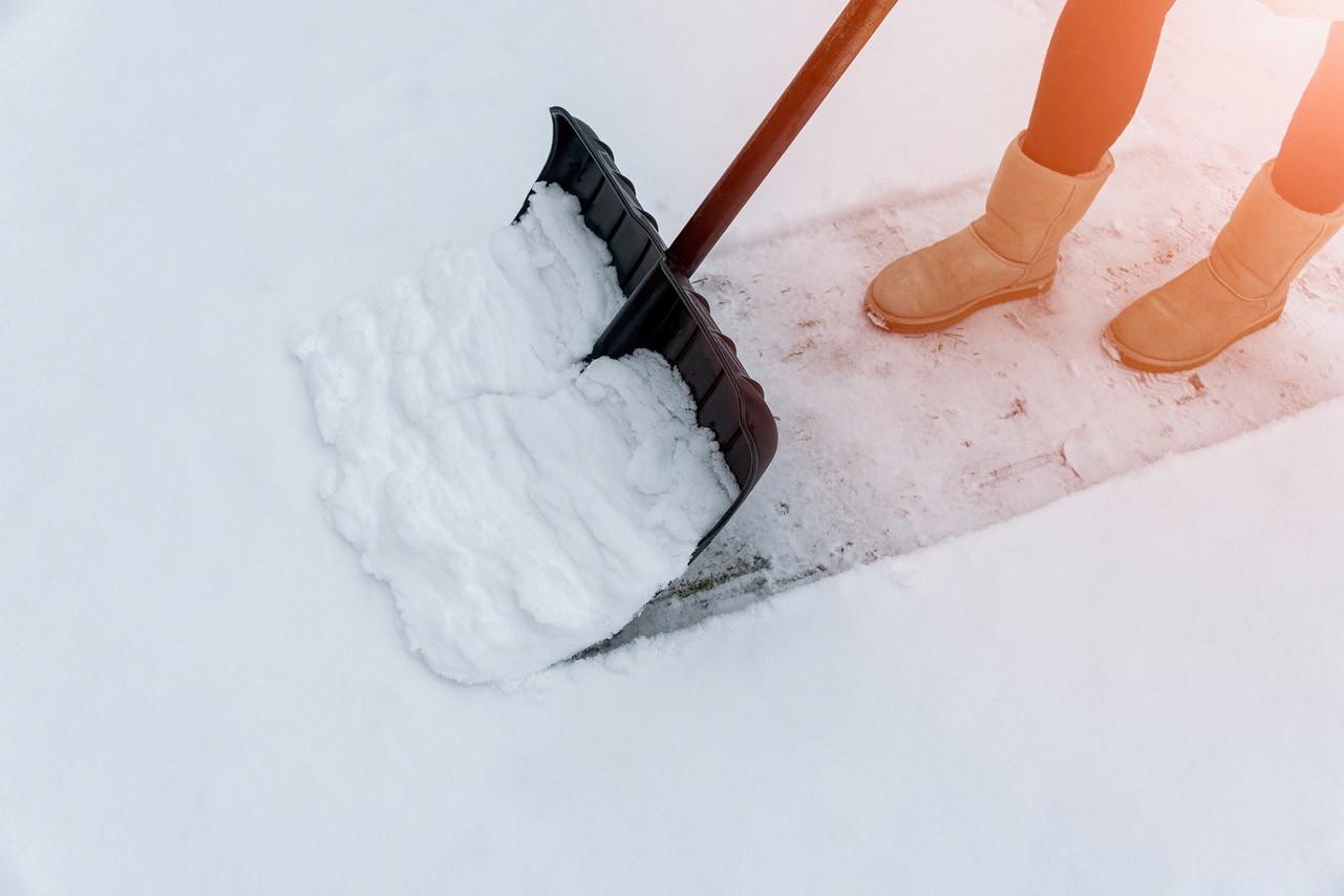 Houd je stoep sneeuwvrij voor een veilige buurt!
